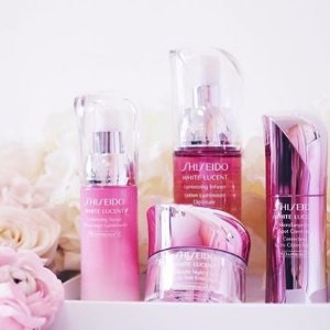 6-pc Skincare Bonus of Your Choice With $75 White Lucent Collection @ Shiseido