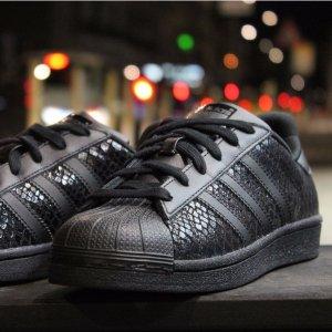 $29New adidas Originals Superstar W S75126 Women's Black Sneakers