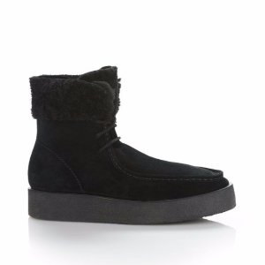 NOAH SUEDE BOOT WITH SHEARLING