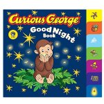 Curious George Good Night Book (CGTV Tabbed Board Book) Board book
