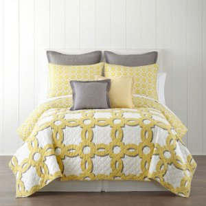 Home Expressions Emma Geo Quilt - JCPenney