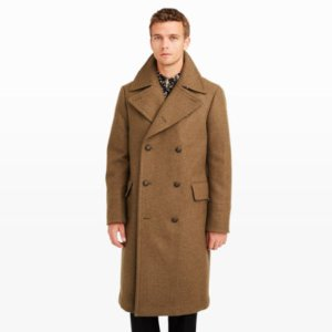 Men   Outerwear   Elevated Officer's Coat   Club Monaco