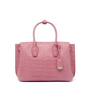 Medium Milla Tote in Prism Pink