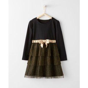 Girls Shimmer Dress