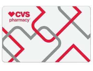 50% OFF$10 for $20 eGift Card to CVS Pharmacy