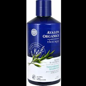 Avalon Organics Biotin B-Complex Thickening Shampoo Therapy -- 14 fl oz
