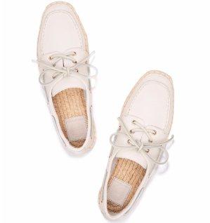 $149 (原价$295) +包邮Tory Burch 气质船鞋促销 三色可选