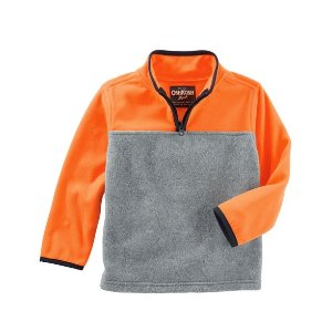 Quarter-Zip B'gosh Fleece Cozies
