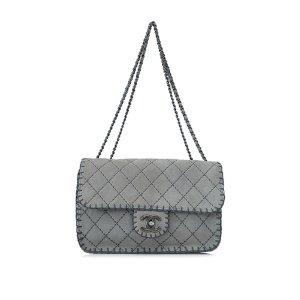 Chanel Suede Shoulder Bag