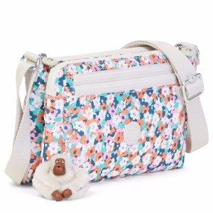 Diane Printed Crossbody Bag - Meadow Flower Pink | Kipling