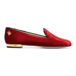 Red Velvet Nocturnal Loafers