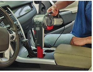 CDN$40超好用~ BLACK + DECKER 12伏有线手持式汽车吸尘器
