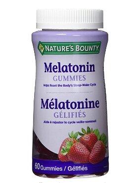 Nature's Bounty 自然之宝褪黑素草莓味软糖60粒