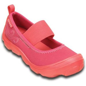 Crocs Girls' Duet Busy Day Mary Jane (children's) | Girls' Comfortable Shoes | Crocs Official Site