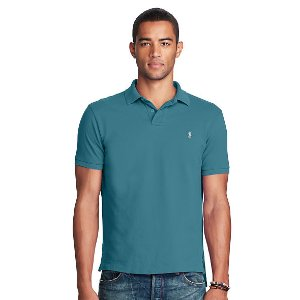 Classic Weathered Mesh Polo