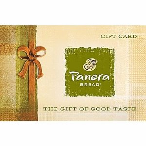 Panera Bread $50 Gift Card Email Delivery