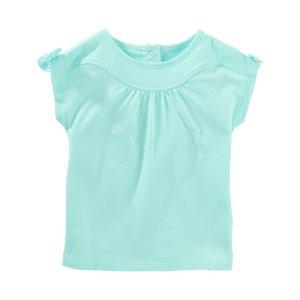 Toddler Girl Tie Sleeve Tee | OshKosh.com