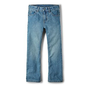 Boys Basic Bootcut Jeans - Light Stone Wash | The Children's Place
