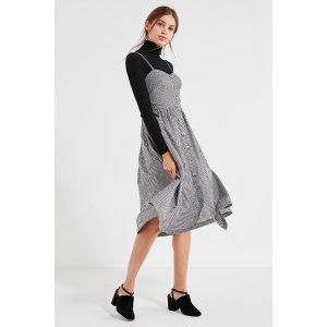 Cooperative 格纹吊带裙
