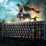 Tomoko Blue Switches LED-Backlit Mechanical Keyboard