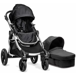 Baby Jogger City Select Stroller Onyx w/ Bassinet Pram System Travel NEW 2016  | eBay