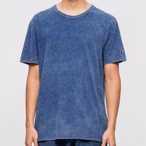 Champion Reverse Weave Indigo Dye S/S T-Shirt   HBX