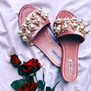 $18.97起 低至5折Cape Robbin女鞋热卖 平价大牌款,珍珠鞋、彩虹鞋都有