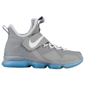 Nike LeBron 14 - Boys' Grade School - Basketball - Shoes - James, LeBron - Matte Silver/White/Glow