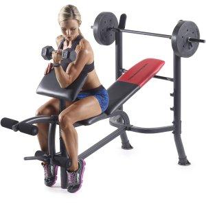 $96.28Weider Pro 265 多功能健身架套装
