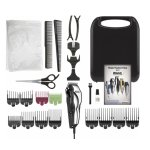 Wahl - Deluxe Chrome Pro Haircutting Kit - Chrome/Black