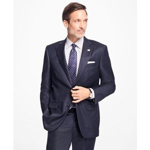 Madison Fit Shadow Stripe 1818 Suit - Brooks Brothers