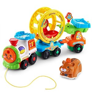 VTech® Go! Go! Smart Animals® Roll & Spin Pet Train™