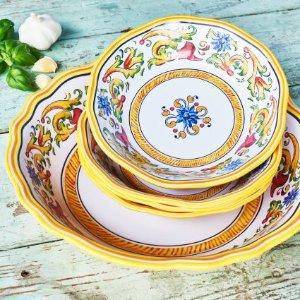 Floreale 5-Piece Pasta Set | Sur La Table