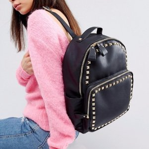 Yoki Studded Backpack @ ASOS
