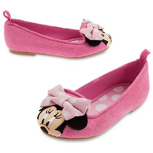 Minnie Mouse Flat Shoes for Girls | Disney Store