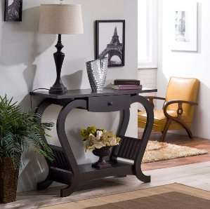$117.24Furniture of America Hartleon Modern Espresso Sofa Table