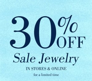 30% Off + Free ShippingSale Jewelry @ South Moon Under