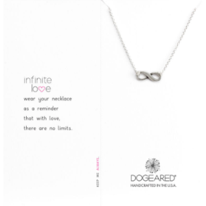 Infinite Love Necklace, Sterling Silver | Dogeared