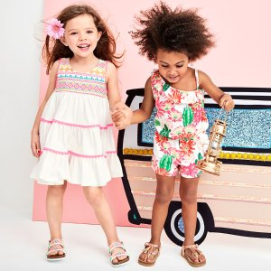 Up to 70% Off + Free ShippingKid's Summer Styles @ Children's Place