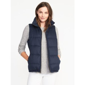 Quilted Frost-Free Vest for Women