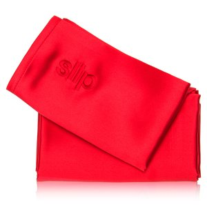 slip Queen Pure Silk Pillowcase - Red - Dermstore