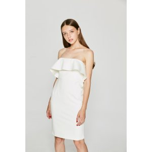Keep Your Ruffle Strapless Dress FW0743