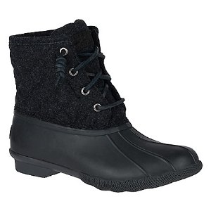 Women's Saltwater Quilted Wool Duck Boot - Boots | Sperry