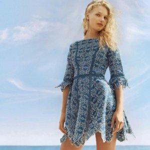 低至5折 夏天入小裙子啦Maje美丽浪漫女士连衣裙,半裙,上衣等服饰