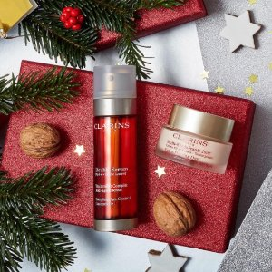 Free 2-pc Gift Set + $10 Off $50with Clarins Purchase @ Belk
