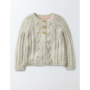 Cable Cardigan 30118 Knitwear at Boden