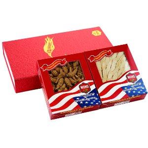 Premium Selected Gift Box Bundle: Ginseng Slice Medium 4 oz Box + Short Medium 4 oz Box