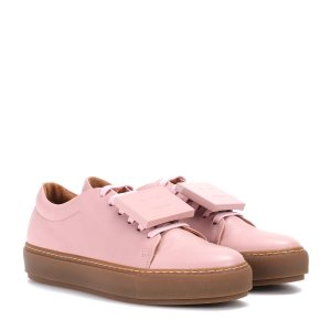 Exclusive to mytheresa.com – Adriana TurnUp leather sneakers
