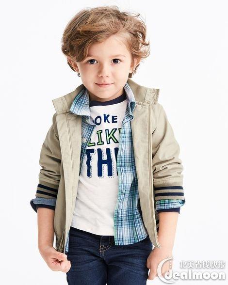 金宝贝是美国非常受欢迎的知名童装品牌,她家的童装配色美腻,图案可爱