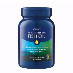 GNC Triple Strength Fish Oil - 60ct